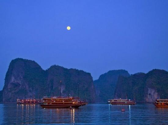 halong bay tourboats 11379 600x450 550x412 Why Honeymoon in Vietnam?