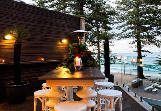 manly rooftop wedding venue