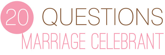 questions to ask marriage celebrant Twenty Questions – What To Ask Your Marriage Celebrant