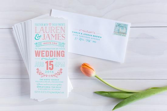 wedding invitations online008 Letterpress Wedding Invitations From The Print Fairy
