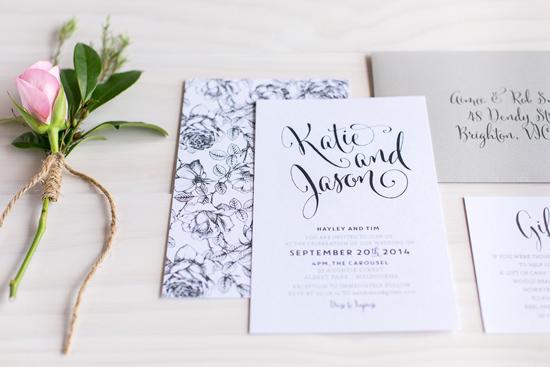 wedding invitations online015 Letterpress Wedding Invitations From The Print Fairy