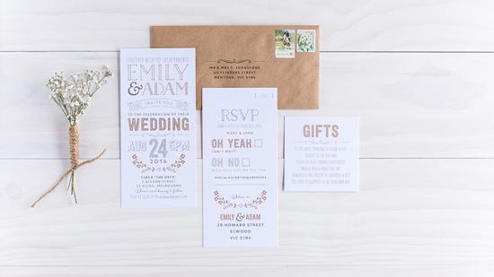 wedding invitations online016 Letterpress Wedding Invitations From The Print Fairy