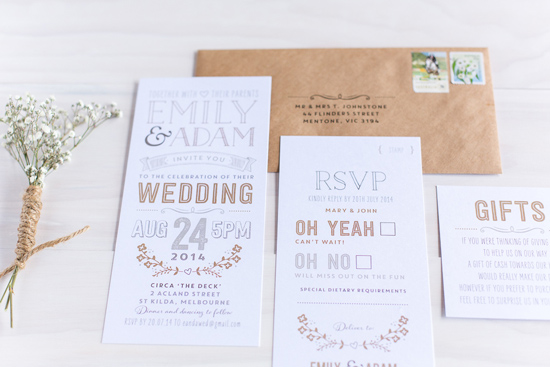 wedding invitations online017 Letterpress Wedding Invitations From The Print Fairy