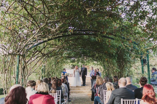 JessJamie 146 550x366 Jess and Jamies Vintage Garden Wedding