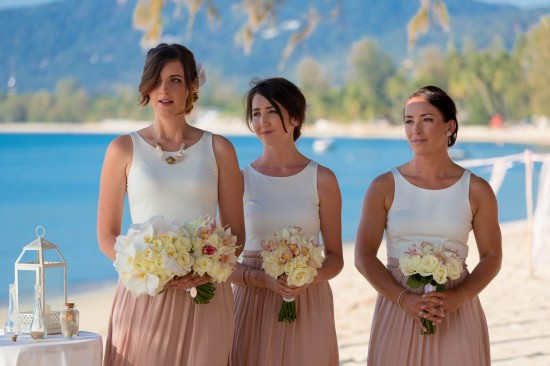 SaskiaMatthew 50 of 1001 550x366 Saskia & Matthews Koh Samui Wedding In Paradise