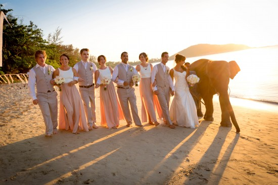 SaskiaMatthew 68 of 1001 550x366 Saskia & Matthews Koh Samui Wedding In Paradise