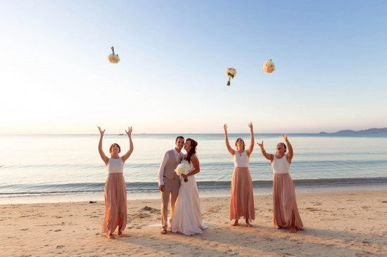 SaskiaMatthew 70 of 1001 550x366 Saskia & Matthews Koh Samui Wedding In Paradise