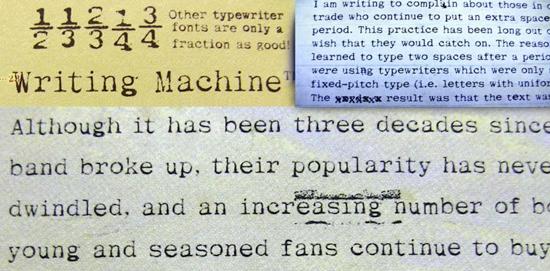 Writing Machine™ Tuesday Type Writing Machine