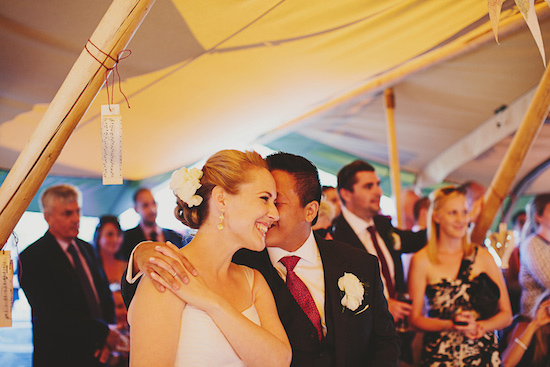australian tipi wedding042 Emily and Brians Australian Tipi Wedding
