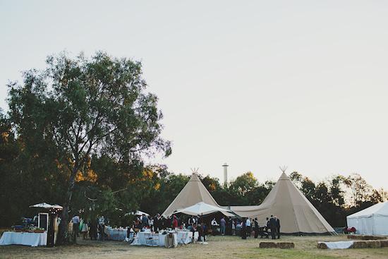 australian tipi wedding044 Emily and Brians Australian Tipi Wedding