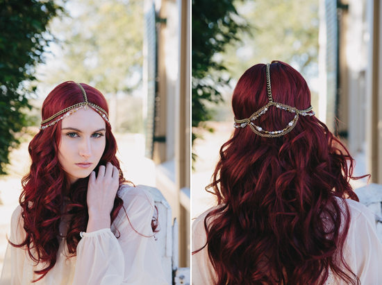 bridal hair pieces from Teeki041 The Grace Collection By Teeki Designs