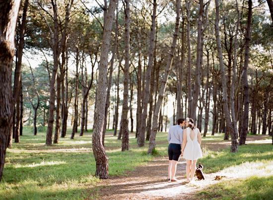romantic park engagement009 Amelia and Ians Romantic Park Engagement Photos