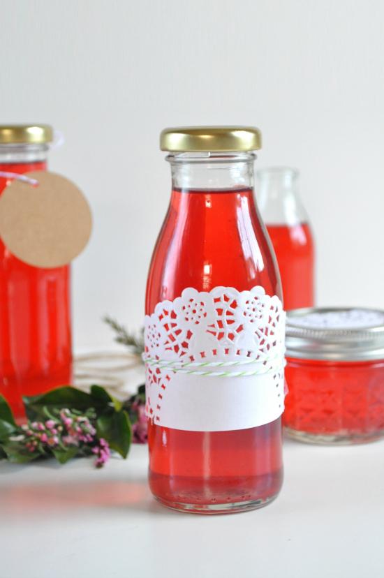 rose vinegar2 Rose Petal Homemade Vinegar