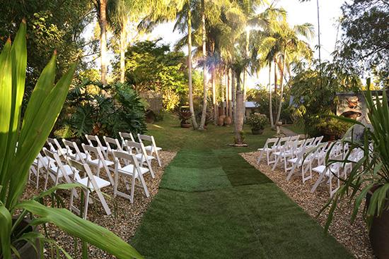 secret garden byron bay Ten Garden Wedding Venues In New South Wales