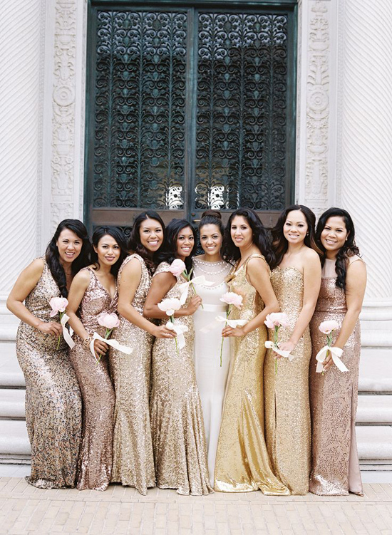 sparkly bridesmaid gowns001 Sparkly Bridesmaid Gowns