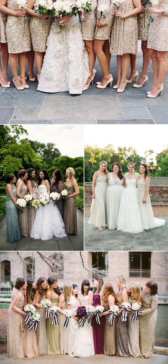 sparkly bridesmaid gowns002 Sparkly Bridesmaid Gowns
