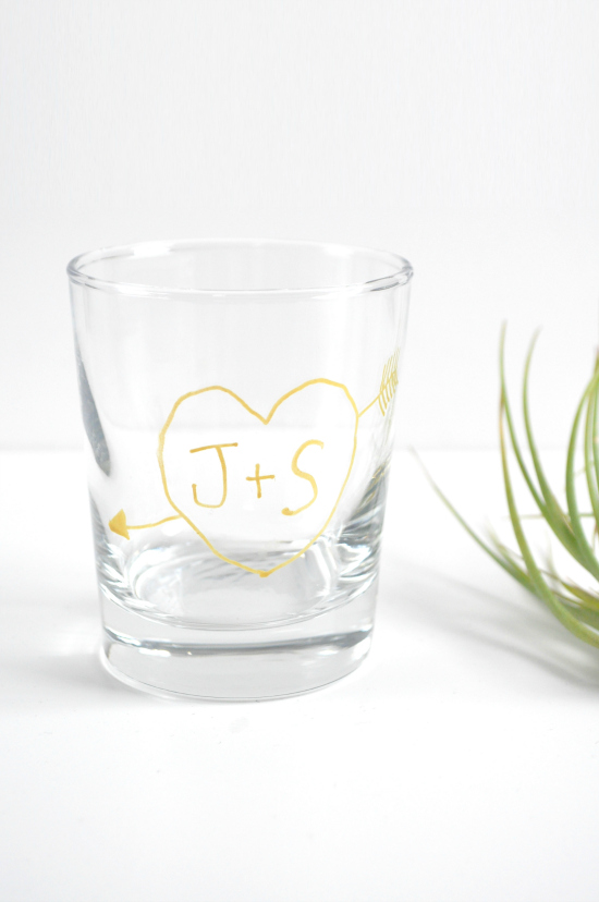 tumbler favours2 DIY Wedding Favours Personalised Tumbler