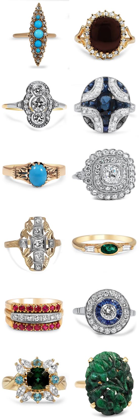 vintage engagement rings002
