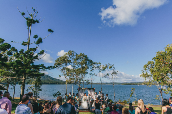 vintage inspired lakehouse wedding027 Lucy and Pauls Vintage Inspired Lakeside Wedding