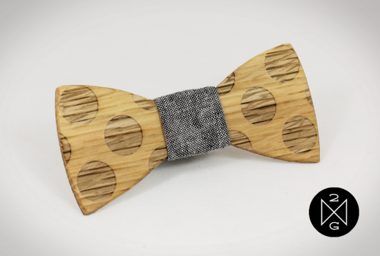 Earl 38558.1411418749.1280.1280 550x371 Wooden Bow Ties From Two Guys Bow Ties