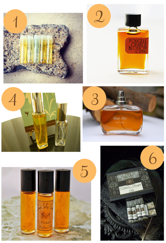 Natural Perfumes Etsy Roundup Natural Perfume
