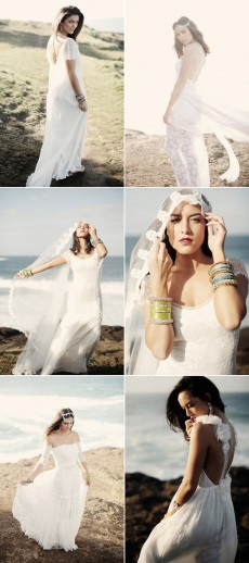 bohemian wedding gowns grace loves lace