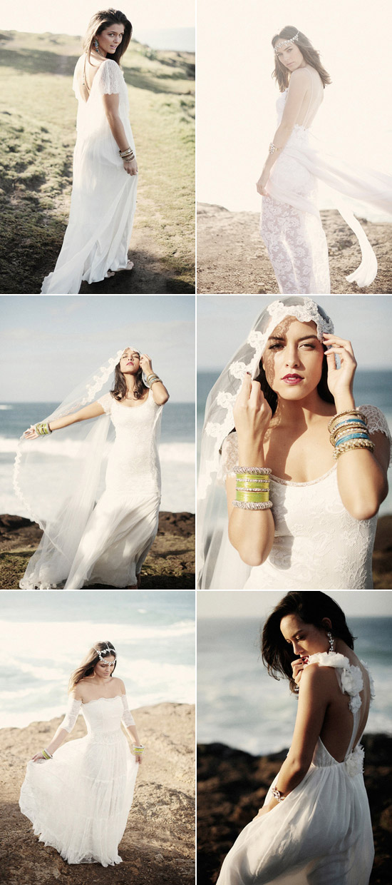 bohemian wedding gowns grace loves lace Vendor of the Week Grace Loves Lace