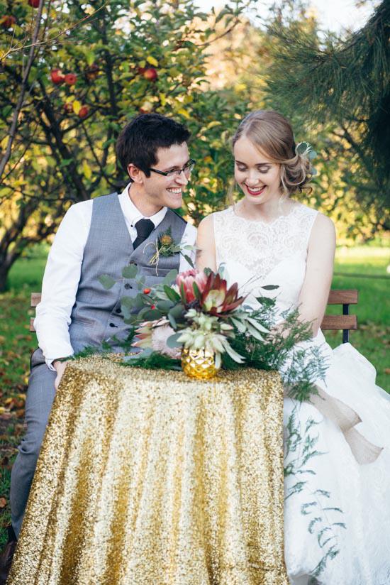 erustic winter orchard wedding00 Rustic Winter Orchard Wedding Inspiration