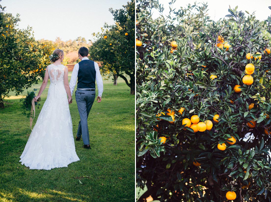 erustic winter orchard wedding02 Rustic Winter Orchard Wedding Inspiration
