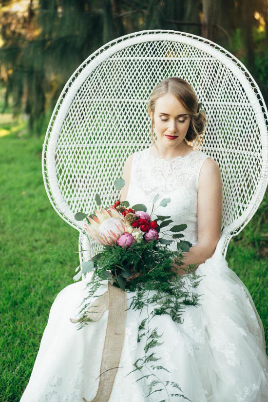 erustic winter orchard wedding06 1 Rustic Winter Orchard Wedding Inspiration