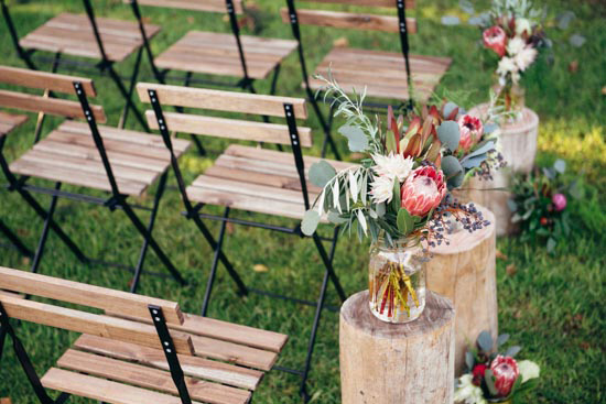 erustic winter orchard wedding07 Rustic Winter Orchard Wedding Inspiration