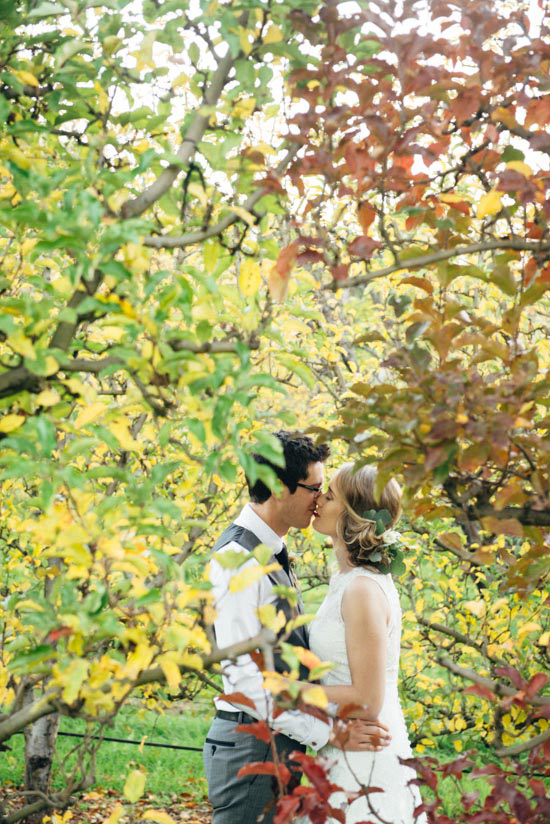 erustic winter orchard wedding14 1 Rustic Winter Orchard Wedding Inspiration
