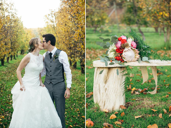 erustic winter orchard wedding29 Rustic Winter Orchard Wedding Inspiration