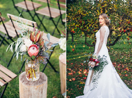 erustic winter orchard wedding34 Rustic Winter Orchard Wedding Inspiration