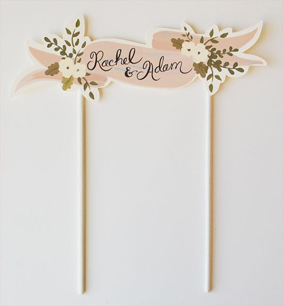 handpainted cake toppers0002 Creative Cake Toppers From The First Snow