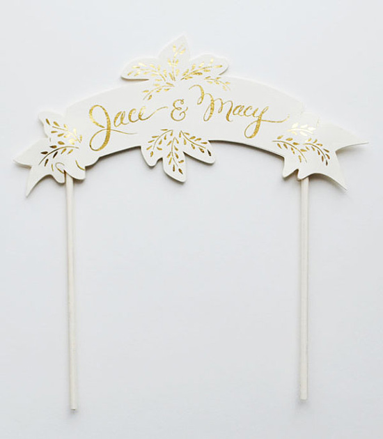 handpainted cake toppers0005 Creative Cake Toppers From The First Snow