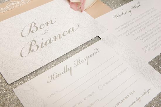 modern wedding invitations03 Modern Wedding Invitations From Studio Silva