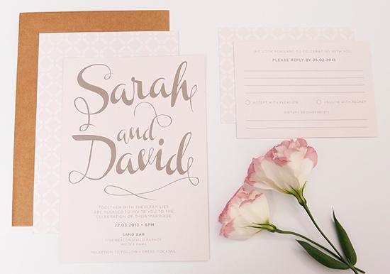 modern wedding invitations06 Modern Wedding Invitations From Studio Silva