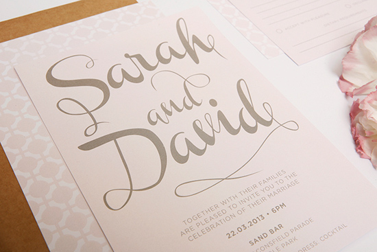 modern wedding invitations07 Modern Wedding Invitations From Studio Silva