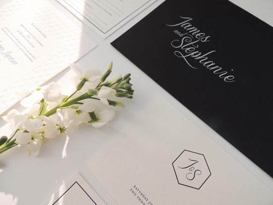modern wedding invitations08 Modern Wedding Invitations From Studio Silva
