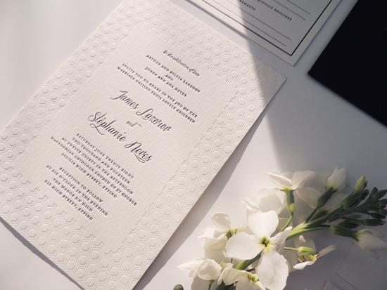modern wedding invitations09 Modern Wedding Invitations From Studio Silva