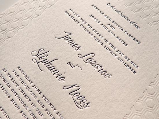 modern wedding invitations11 Modern Wedding Invitations From Studio Silva
