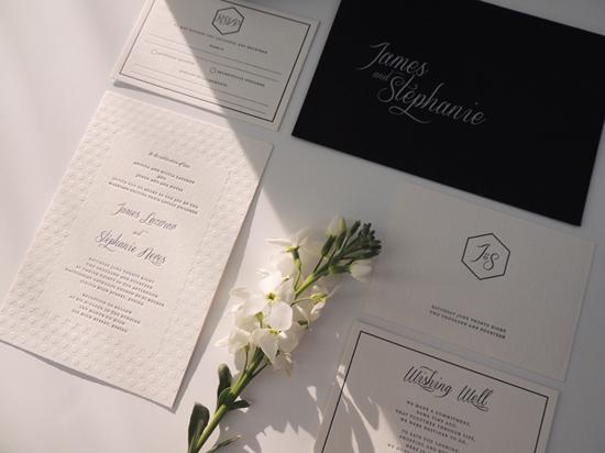 modern wedding invitations12 Modern Wedding Invitations From Studio Silva