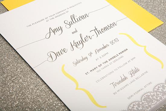 modern wedding invitations13 Modern Wedding Invitations From Studio Silva