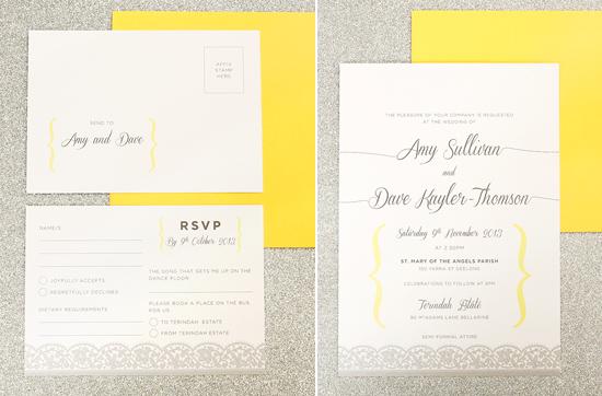 modern wedding invitations14 Modern Wedding Invitations From Studio Silva