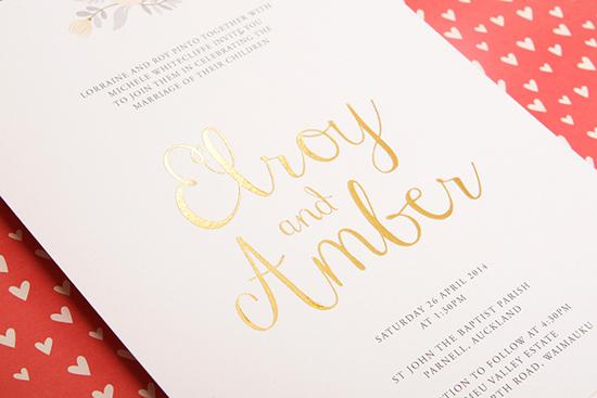 modern wedding invitations16 Modern Wedding Invitations From Studio Silva