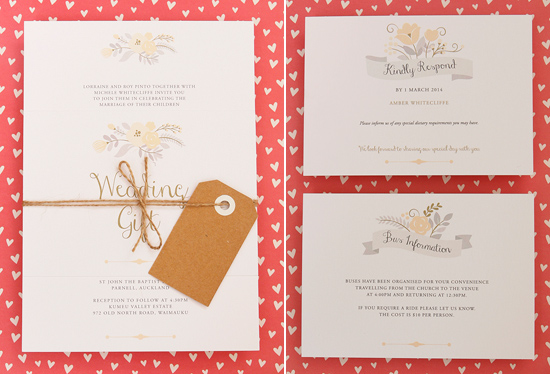modern wedding invitations17 Modern Wedding Invitations From Studio Silva