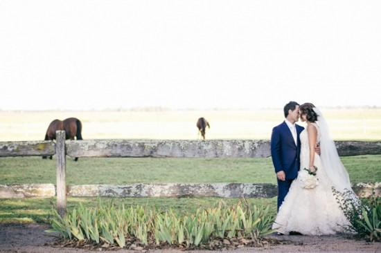 romantic wedding style2285 550x366 Sam & Amandas Romantic Wedding In Berry