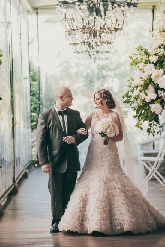romantic wedding style2292 550x825 Sam & Amandas Romantic Wedding In Berry