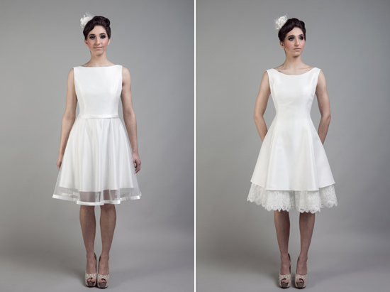 short wedding dresses tobi hannah010 Tobi Hannah Wedding Gowns Adventure Collection